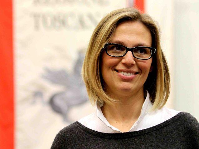 Assessore regionale Sara Nocentini